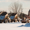 140103 Walmart supercenter JOED VIERA/STAFF PHOTOGRAPHER Lockport, NY-Construction vehicles are parked in front of the site of the new Walmart Supercenter Friday Jan 2nd, 2013..