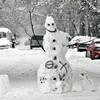 TRAFFIC SNOWMAN