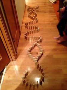 """""""Connor"""" domino fall"""
