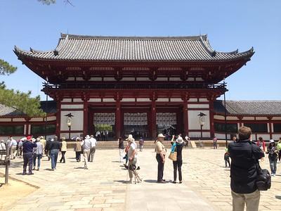 Todai-ji Temple, Nara - Leslie Rowley S95