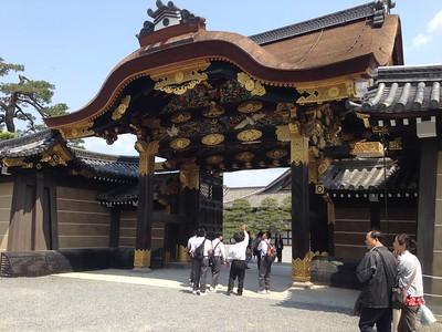 Nijo Castle, Kyoto - Leslie Rowley S95