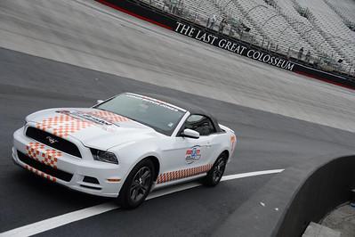 Jason at NASCAR Food City 500 - March 16, 2014