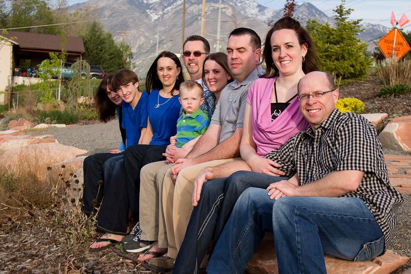 Jen & Nathan Family