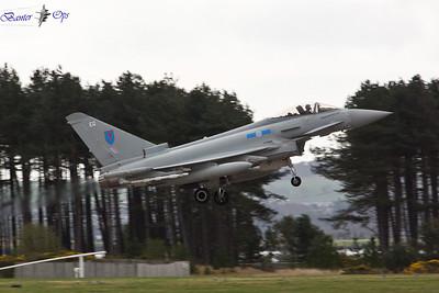 Eurofighter Typhoon FGR.4 ZJ937 Royal Air Force 6 Sqn, RAF Leuchars