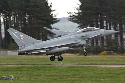 Eurofighter Typhoon FGR.4 ZK329 Royal Air Force 1 Sqn, RAF Leuchars