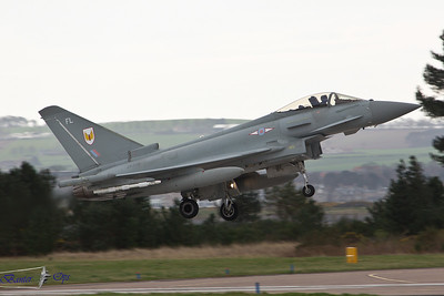 Eurofighter Typhoon FGR.4 ZK310 Royal Air Force 1 Sqn, RAF Leuchars