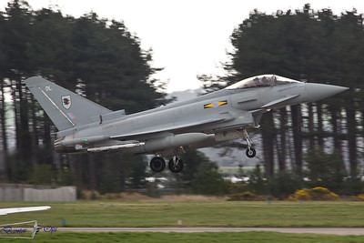 Eurofighter Typhoon FGR.4 ZJ929 Royal Air Force 11 Sqn, RAF Coningsby