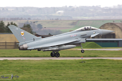 Eurofighter Typhoon FGR.4 ZK348 Royal Air Force 1 Sqn, RAF Leuchars
