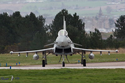 Eurofighter Typhoon FGR.4 ZJ924 Royal Air Force 11 Sqn, RAF Coningsby