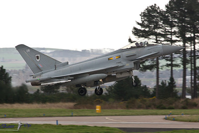 Eurofighter Typhoon FGR.4 ZJ932 Royal Air Force 11 Sqn, RAF Coningsby