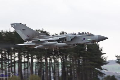 Panavia Tornado GR.4T ZA541 Royal Air Force Lossiemouth Wing