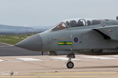 Panavia Tornado GR4T ZA562 Royal Air Force Lossiemouth Wing