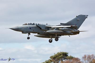 Panavia Tornado GR.4A ZG707 Royal Air Force Lossiemouth Wing