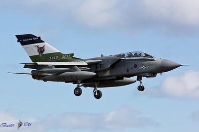 Panavia Tornado GR.4A ZA395 Royal Air Force 12 Sqn, RAF Lossiemouth 12 Sqn Special Markings