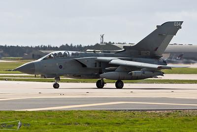 Panavia Tornado GR4T ZA541 Royal Air Force Lossiemouth Wing