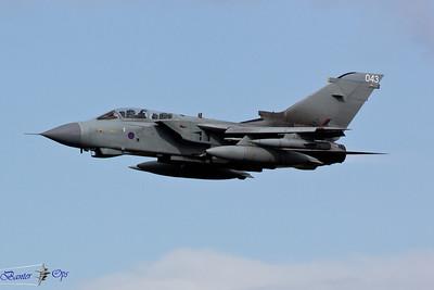 Panavia Tornado GR4T ZA551 Royal Air Force Lossiemouth Wing