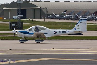 Grob G.115E Tutor G-CGKO Royal Air Force 12 AEF, RAF Leuchars