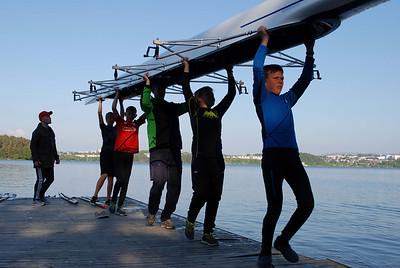 Jr trening før regatta