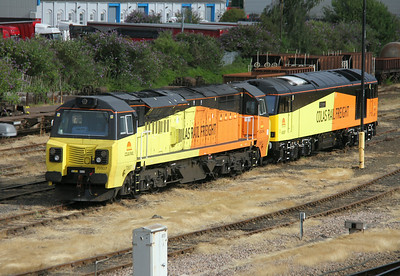 70807 Eastleigh 05/07/14 with 60087