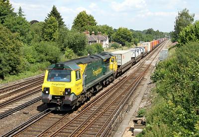 70014 Worting Junction 02/07/14 4O51 Wentloog to Southampton