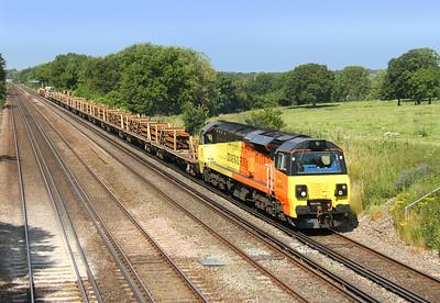 70805 Potbridge 01/07/14 6Y41 Eastleigh to Hoo Junction