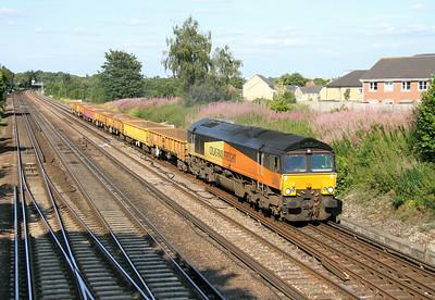 66847 Worting Junction 29/07/14 6Y42 Hoo Junction to Eastleigh