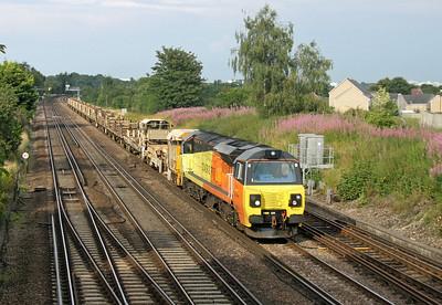 70807 Worting Junction 25/07/14 6Y42 Hoo Junction to Eastleigh
