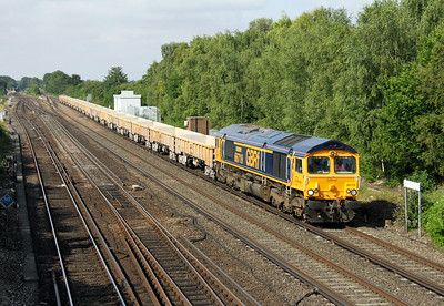 66719 Worting Junction 31/07/14 6M26 Eastleigh to Stud Farm