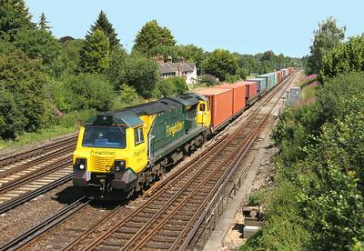 70014 Worting Junction 10/07/14 4oO54 Leeds to Southampton