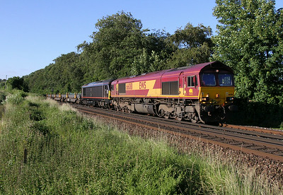 66081 Micheldever 03/07/14 6X01 Scunthorpe to Eastleigh with 67005