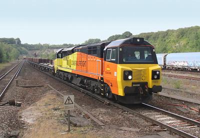 70809 Micheldever 31/07/14 6Y42 Hoo Junction to Eastleigh