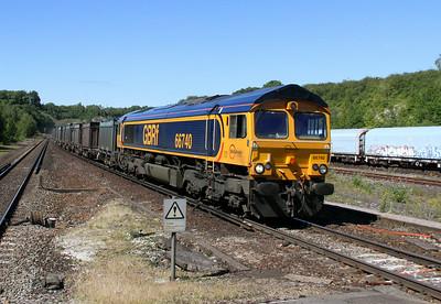 66740 Micheldever 03/07/14 4Y19 Mountfield to Southampton Western Docks