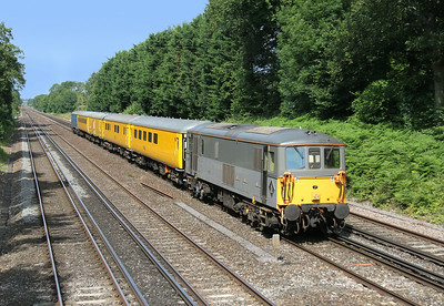 73107 Old Basing 02/07/14 1Q85 Woking to Shalford