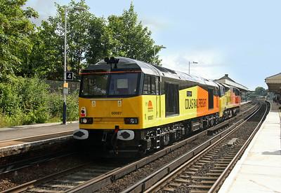 60087 Basingstoke 07/07/14 0Y41 Eastleigh to Hoo Junction