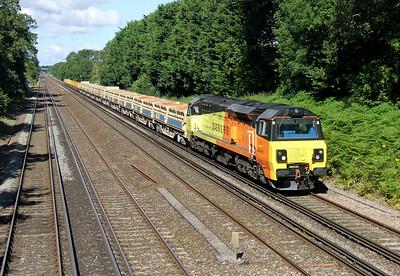 70808 Old Basing 14/07/14 6Y41 Eastleigh to Hoo Junction