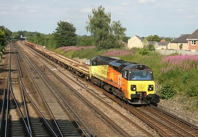 70804 Worting Junction 10/07/14 6Y42 Hoo Junction to Eastleigh