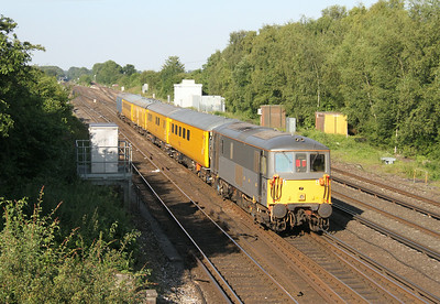 73107 Worting Junction 02/07/14 on the rear of 1Q85 Woking to Shalford via Southampton