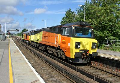 70804 Basingstoke 07/07/14 0Y41 Eastleigh to Hoo Junction with 60087