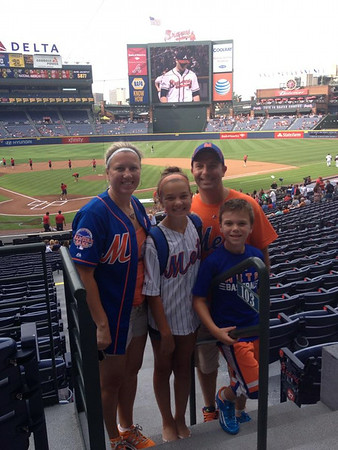 July 2 - Mets at Braves Baseball Game