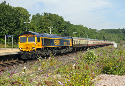 66743 Micheldever 26/07/14 1Z21 Ipswich to Bournemouth