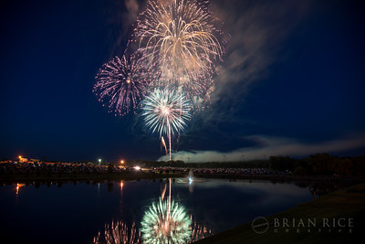 Kearney Fourth of July Fireworks, 07.03.14