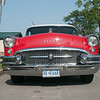 140421 JOED VIERA/STAFF PHOTOGRAPHER-Lockport, NY- Joe Stienman's '55 Buick parked outside of Ida Fritz park for cruise night on Monday July 21st.