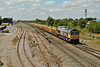 29 July 2014 :: 66743 is passing Highworth Junction with 6M40 from Westbury to Stud Farm