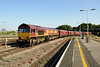 24 July 2014 :: 66199 at Bristol Temple Meads with 6M69 loaded coal from Porbury to Ratcliffe