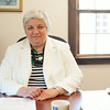 140702 JOED VIERA/STAFF PHOTOGRAPHER-Newfane, NY-CEO of Newfane's Eastern Niagara Hospital Clare Haar poses for a photo at her desk on July 2, 2014.