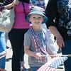 140704 JOED VIERA/STAFF PHOTOGRAPHER-Olcott, NY-Mark Zelfond walks in Olcott's Independance Day parade  on July 4, 2014.