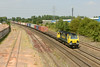 30 July 2014 :: 70007 heading south at Banbury with 4O09 from Trafford Park to Southampton
