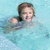 140415 JOED VIERA/STAFF PHOTOGRAPHER-Lockport, NY-Abby houghton 10 swims at Lockport's Community Pool on Tuesday, July 15th.