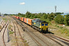 29 July 2014 :: 66503 at Highworth Junction working 4L32 from Bristol to Tilbury