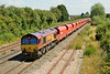 29 July 2014 :: 66138 at Highworth Junction on 6Z47 from Wembley to Cardiff Docks